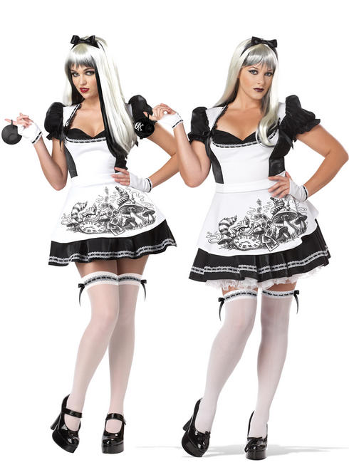 Ladies Dark Alice Costume