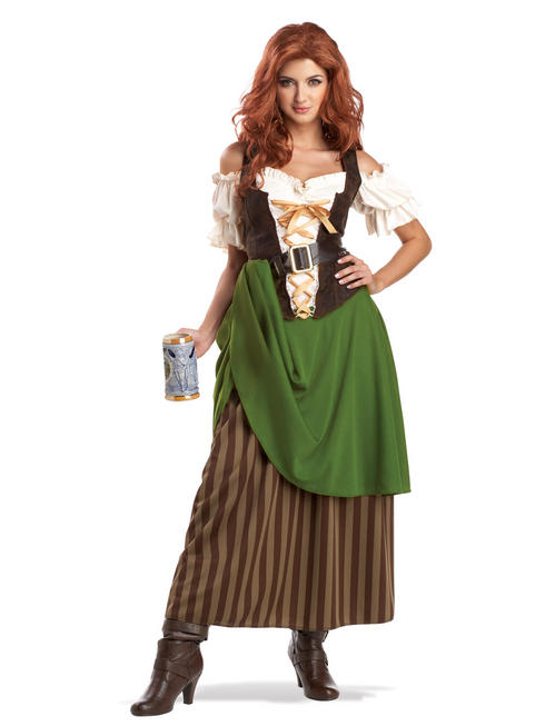 Ladies Tavern Maiden Oktoberfest Costume