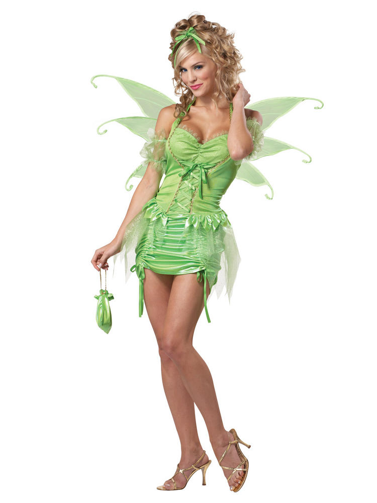 Ladies Tinkerbell Costume