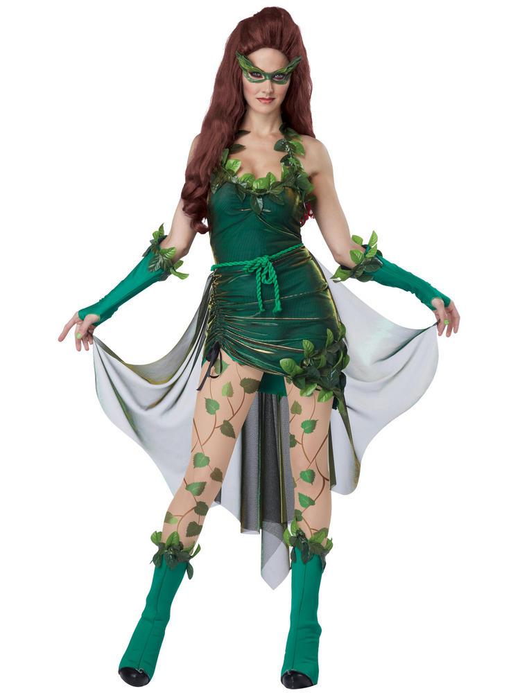 Ladies Poison Ivy Costume