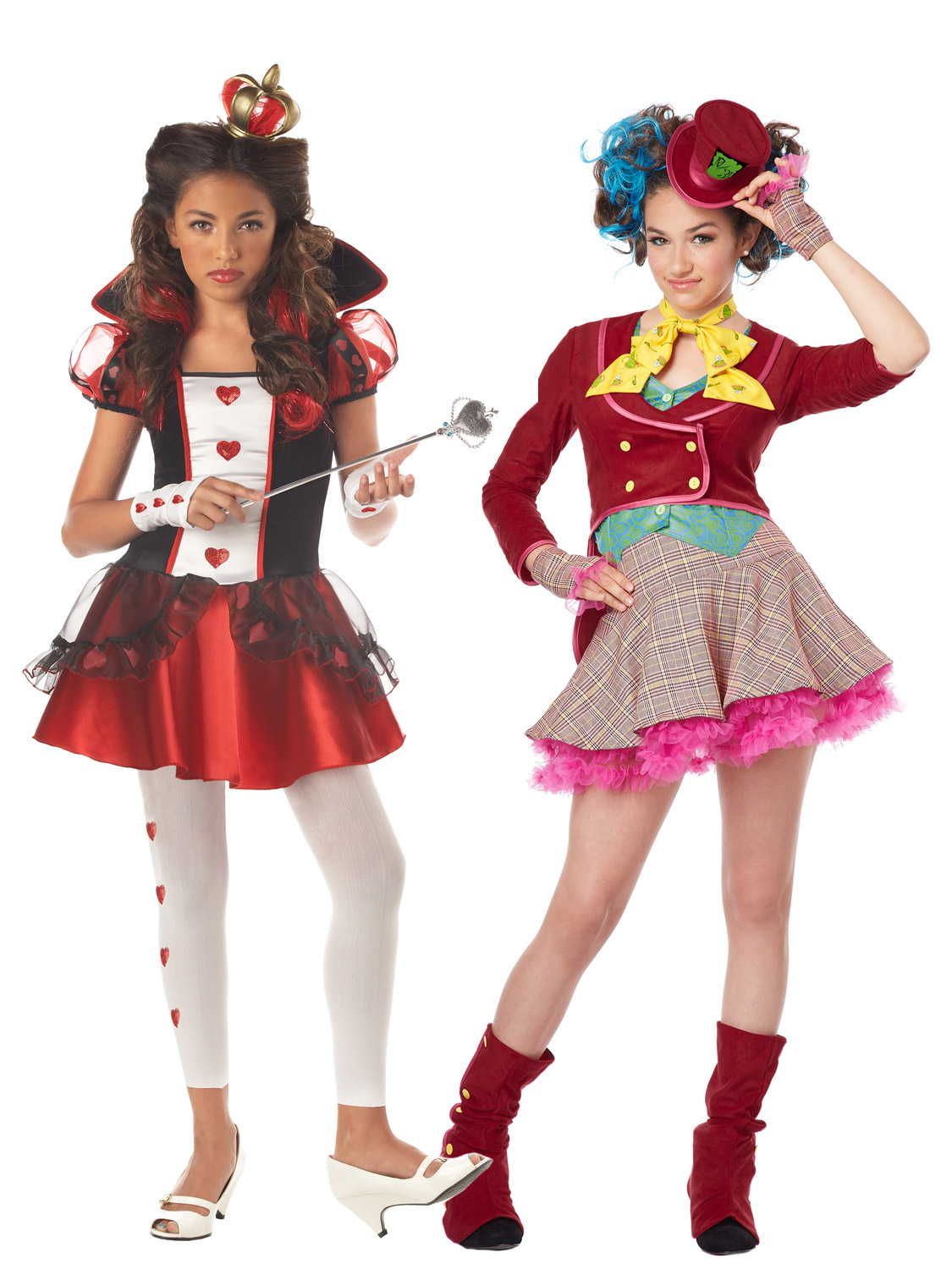 Girl\u0027s Teen Queen of Hearts Costume