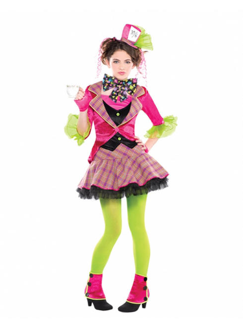 Girl's Teen Mad Hatter Costume