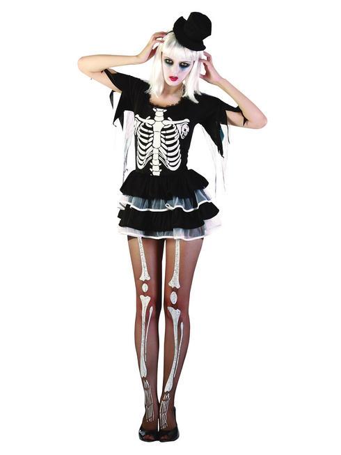 Ladies Skeleton Lady Costume