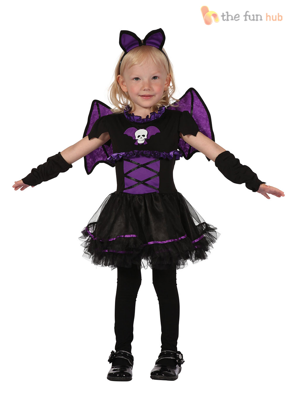 Toddler Girls Halloween Costume Age 2 3 Witch Cat Princess