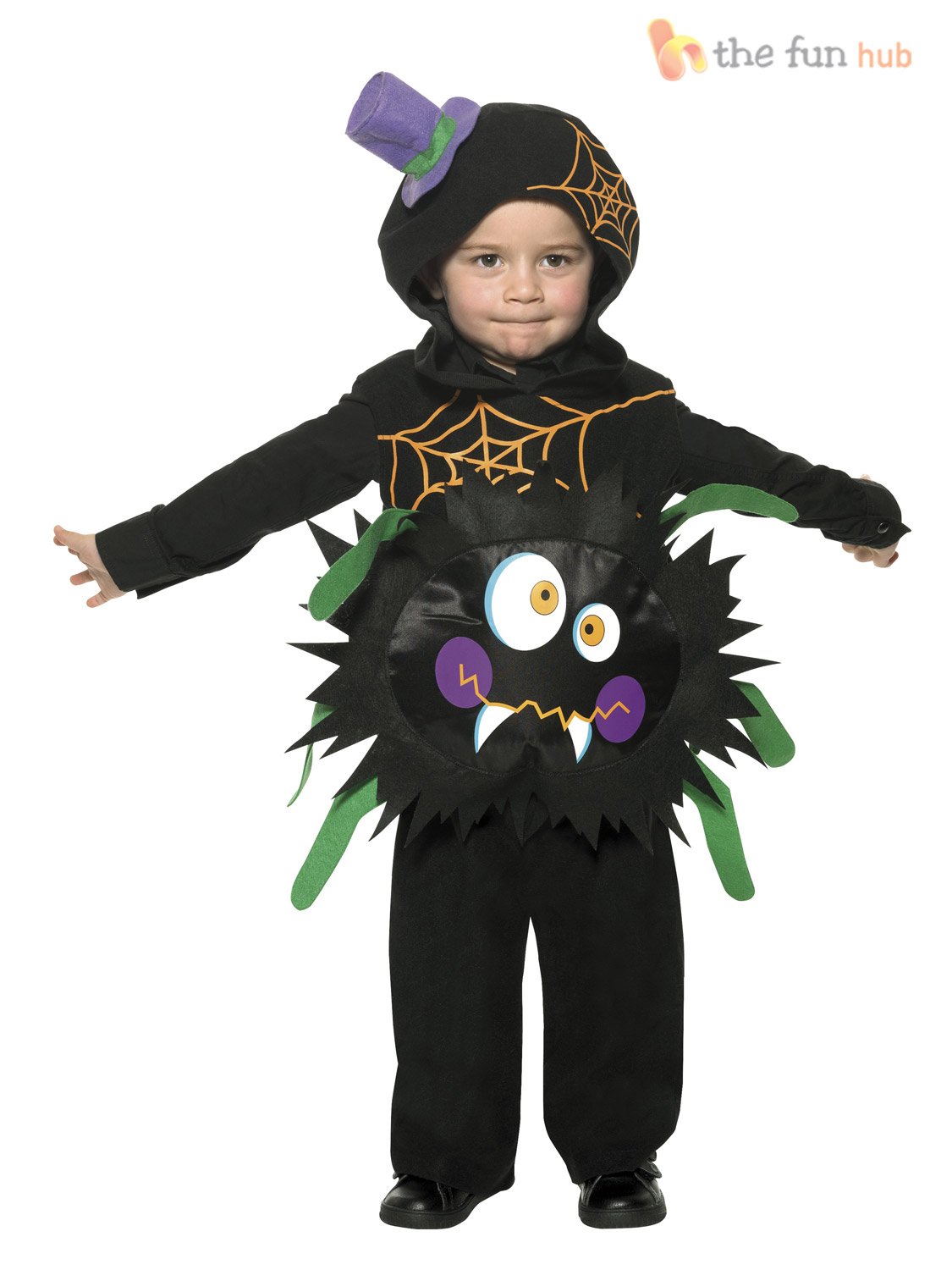 toddler spider costume kids child baby halloween party fancy dress