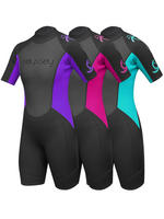 Odyssey Ladies 3mm Shorty Steamer Wetsuit
