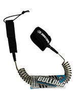 Bulldog Coiled 11ft SUP Surf Leash