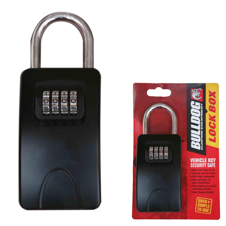 Bulldog Vehical Car Key Lock Box Security Keep Keys Safe