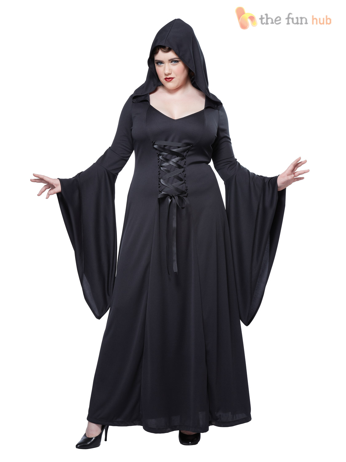 Size 16 20 Ladies Deluxe Sexy Vampire Costume Halloween Plus Size