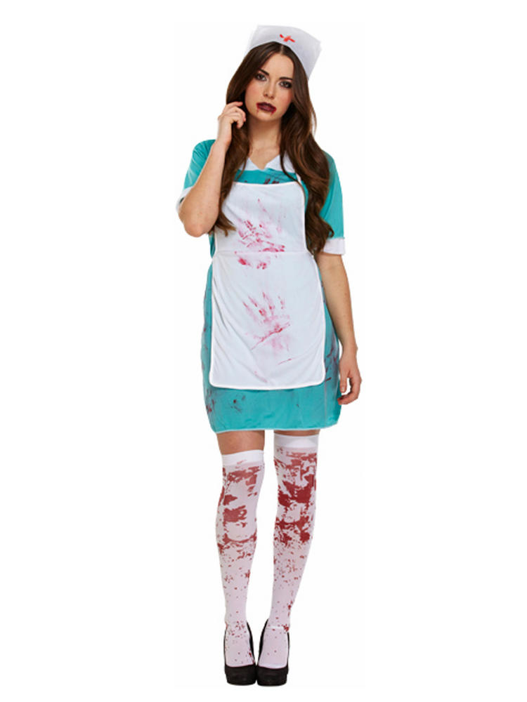 Ladies Sexy Zombie Nurse Costume