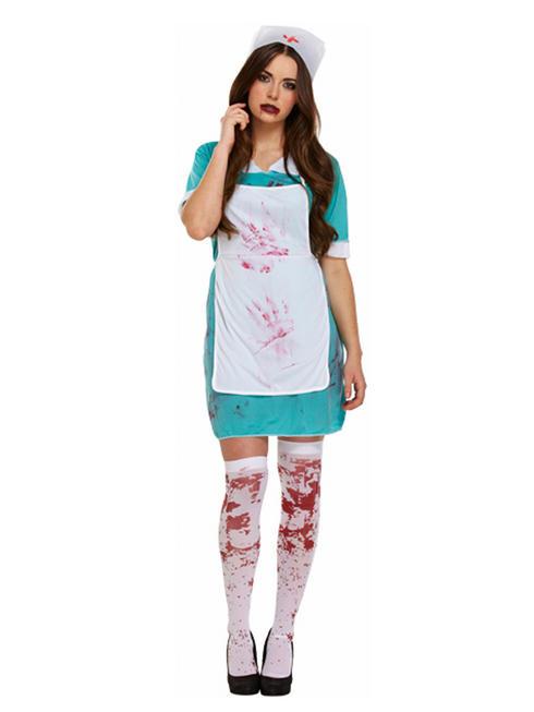 Ladies Sexy Zombie Nurse Costume