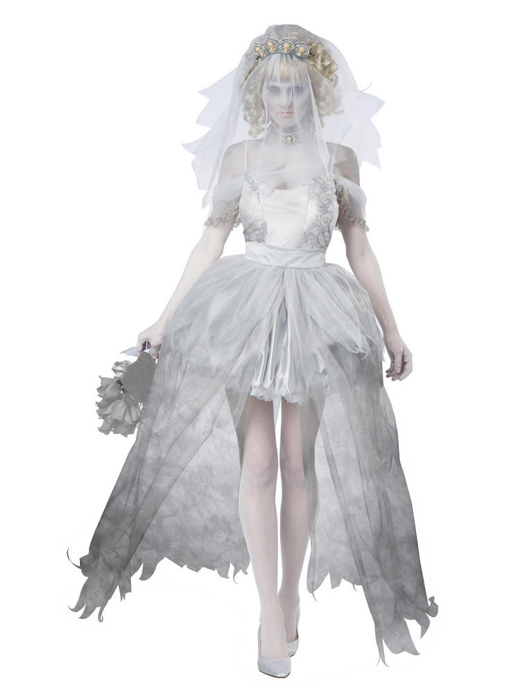 Ladies Ghostly Bride Costume