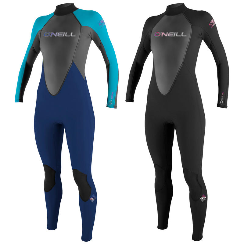 O'Neill Ladie 3/2mm Full Black Reactor Wetsuit