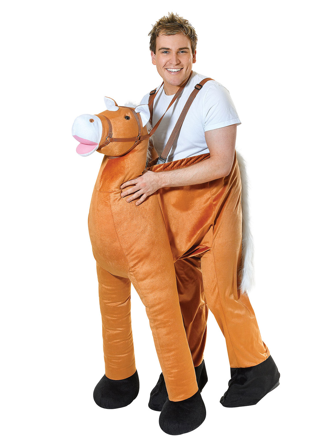 Deluxe adult step in riding ride on animal costumes funny image 7 solutioingenieria Choice Image