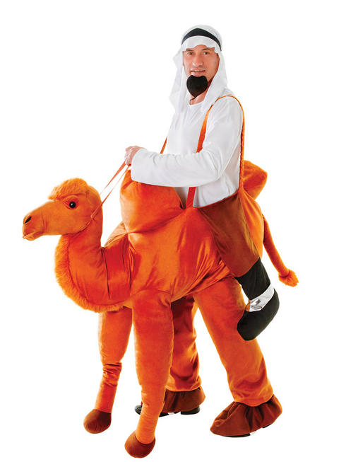 Adults Step In Camel Costume