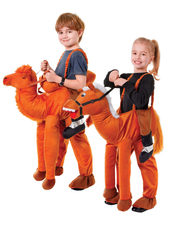 Kids Camel Head Costume