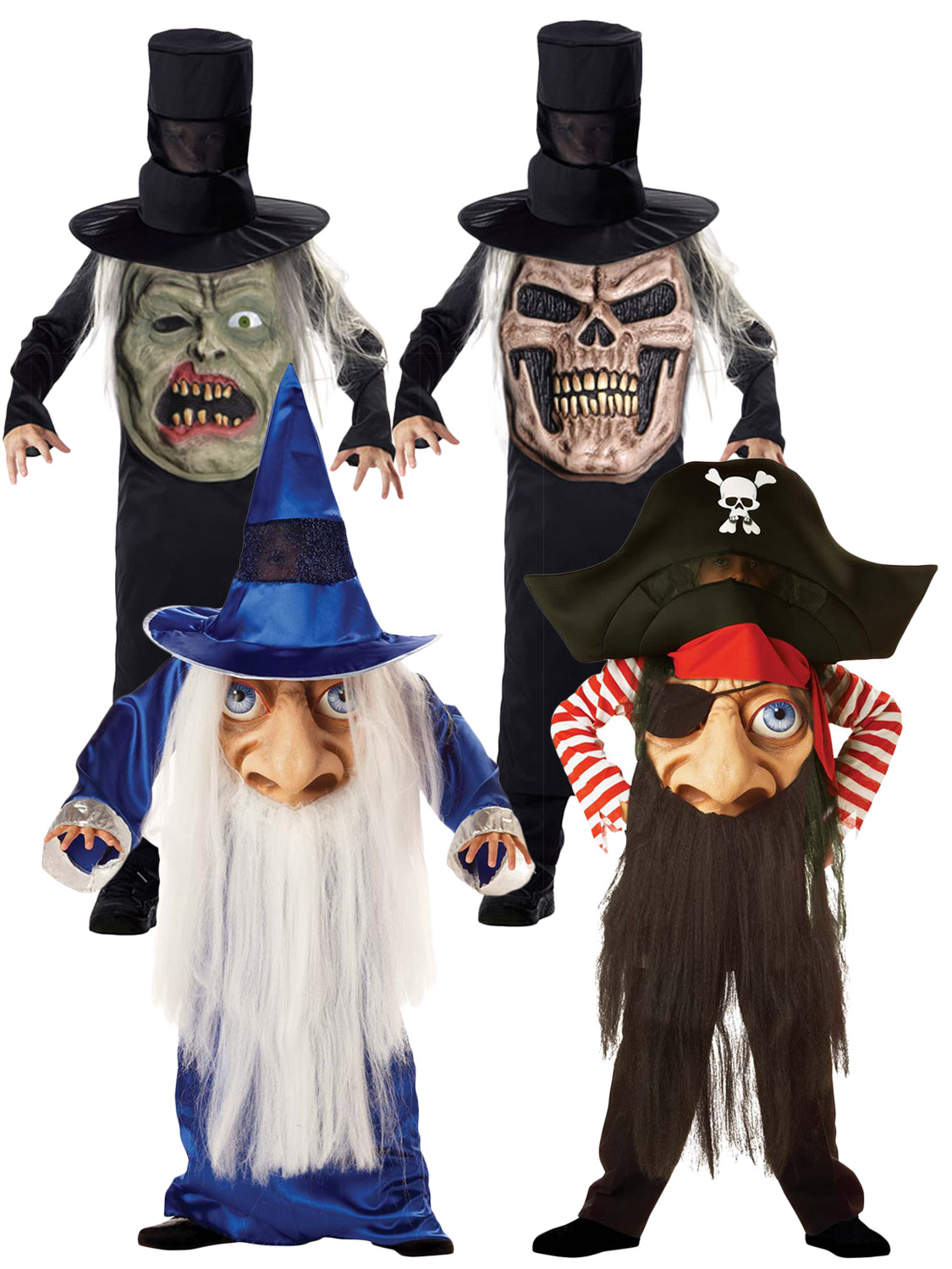 boys wizard mad hatter costume
