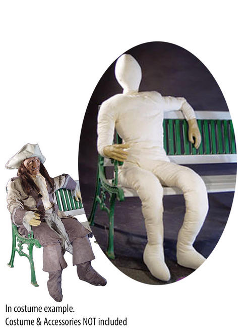 Lifesize Stuffed Human Posing Dummy
