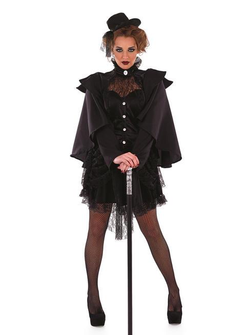 Ladies Victorian Widow Costume