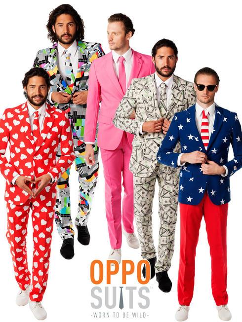 Men's Novelty Oppo Suit