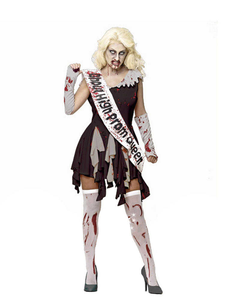 Ladies Blood Prom Queen Costume