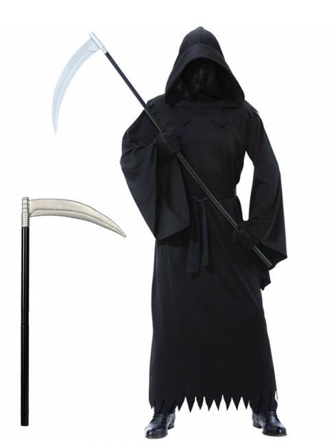 Men's Phantom of Darkness Costume & Scythe