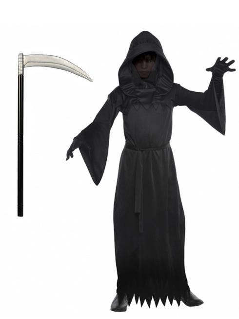 Boy's Phantom of Darkness Costume & Scythe