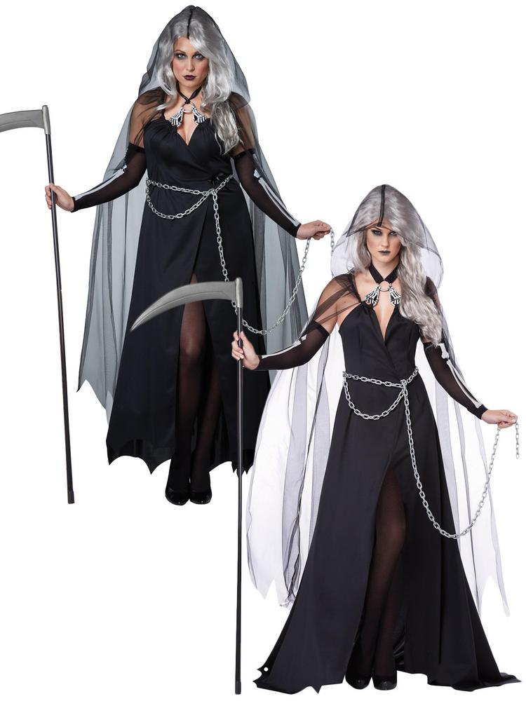Ladies Grim Reaper Costume