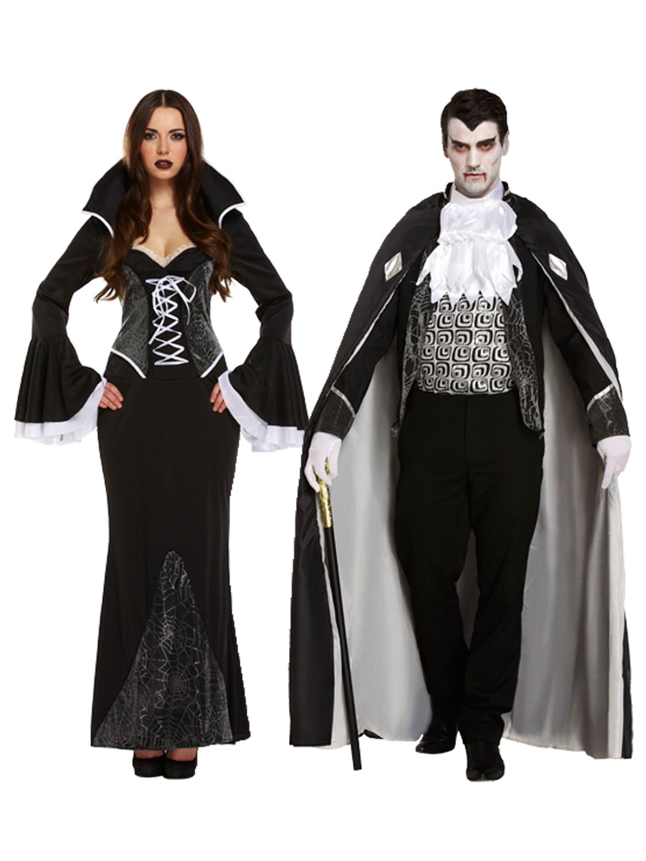 FANCY DRESS HALLOWEEN VANPIRESS VAMPIRE FITS 10-14