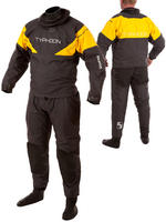 Equator Grey / Yellow Hinge Drysuit