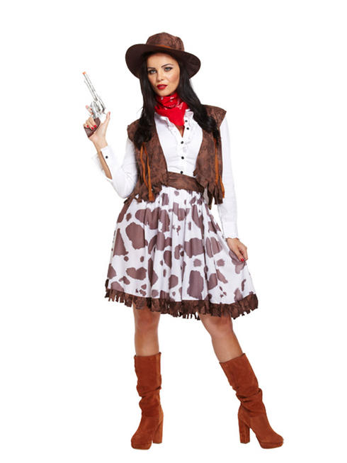 Ladies Sexy Cowgirl Costume