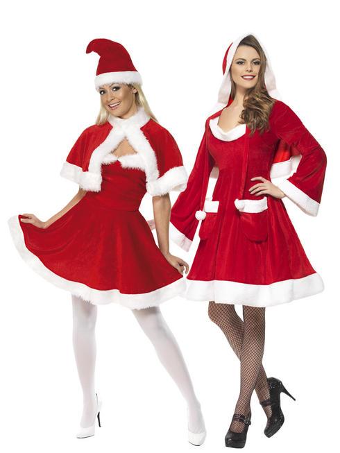 Ladies Santa In The City Dress