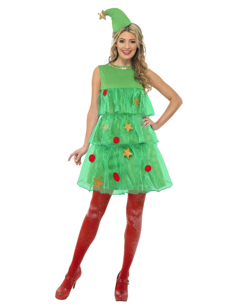 Ladies Christmas Tree Tutu