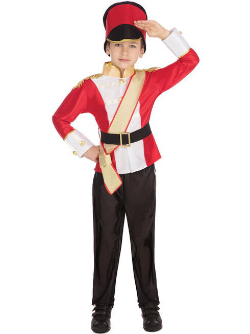 Boy's Toy Soldier Nutcracker Costume