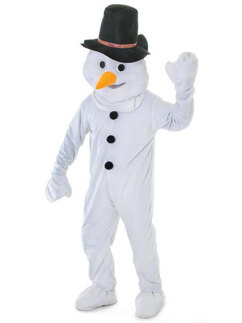 Adults Big Head Snowman Costume
