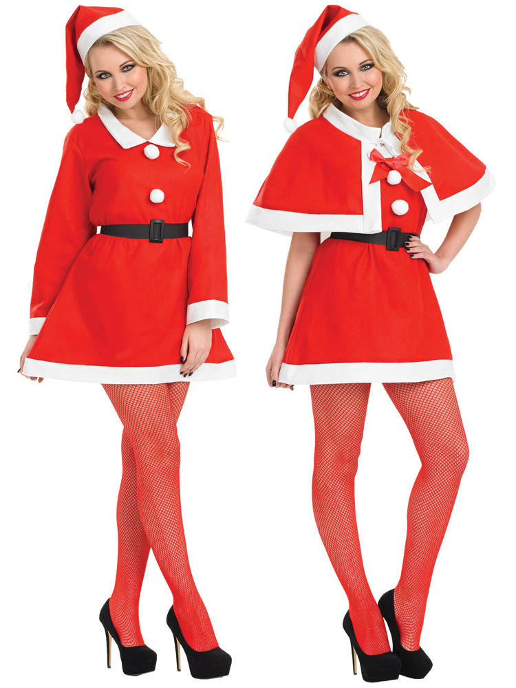 Ladies Cutie Santa Sweetie Costume