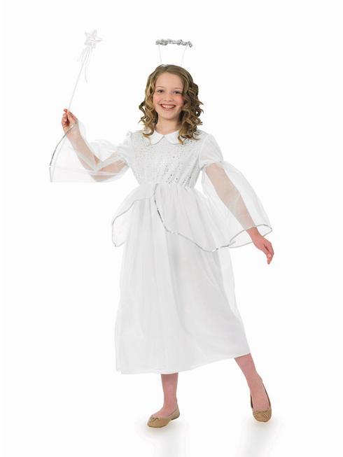 Girl's Angelic Angel Costume