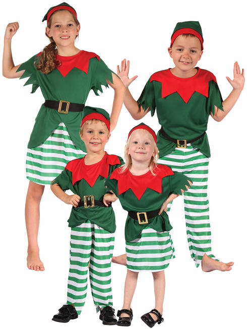Kid's Santa's Helper Elf Costume