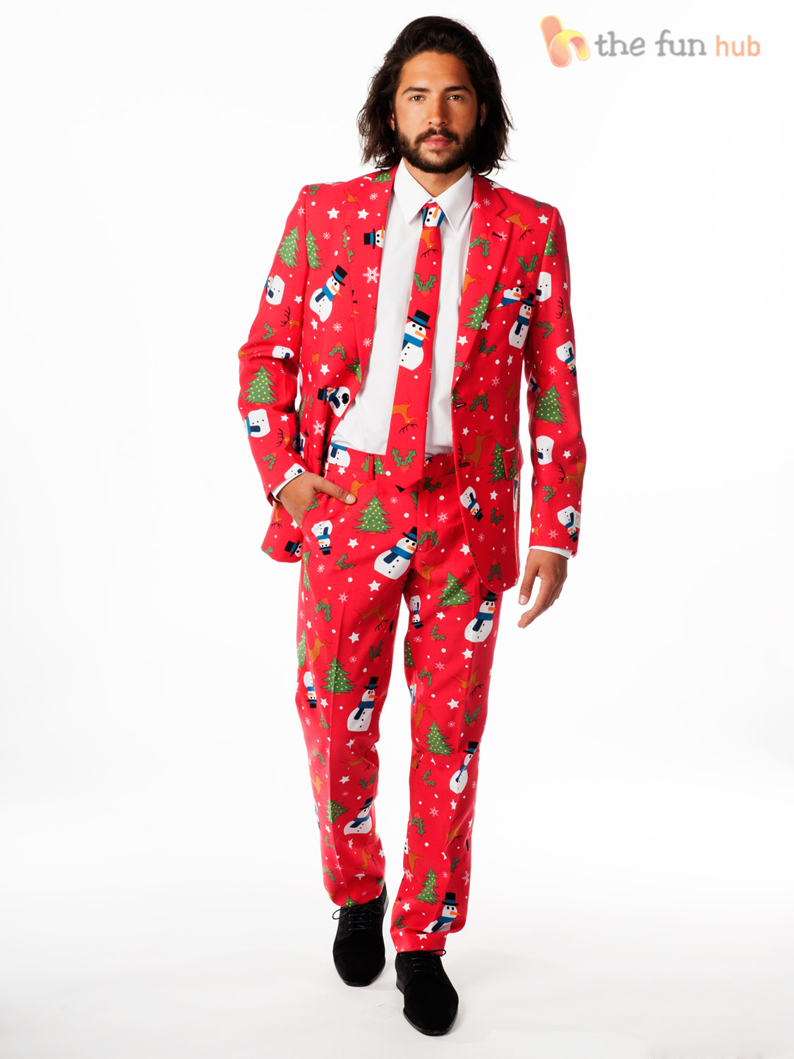 mens christmas opposuit adults xmas party oppo suit - Christmas Clothes For Adults