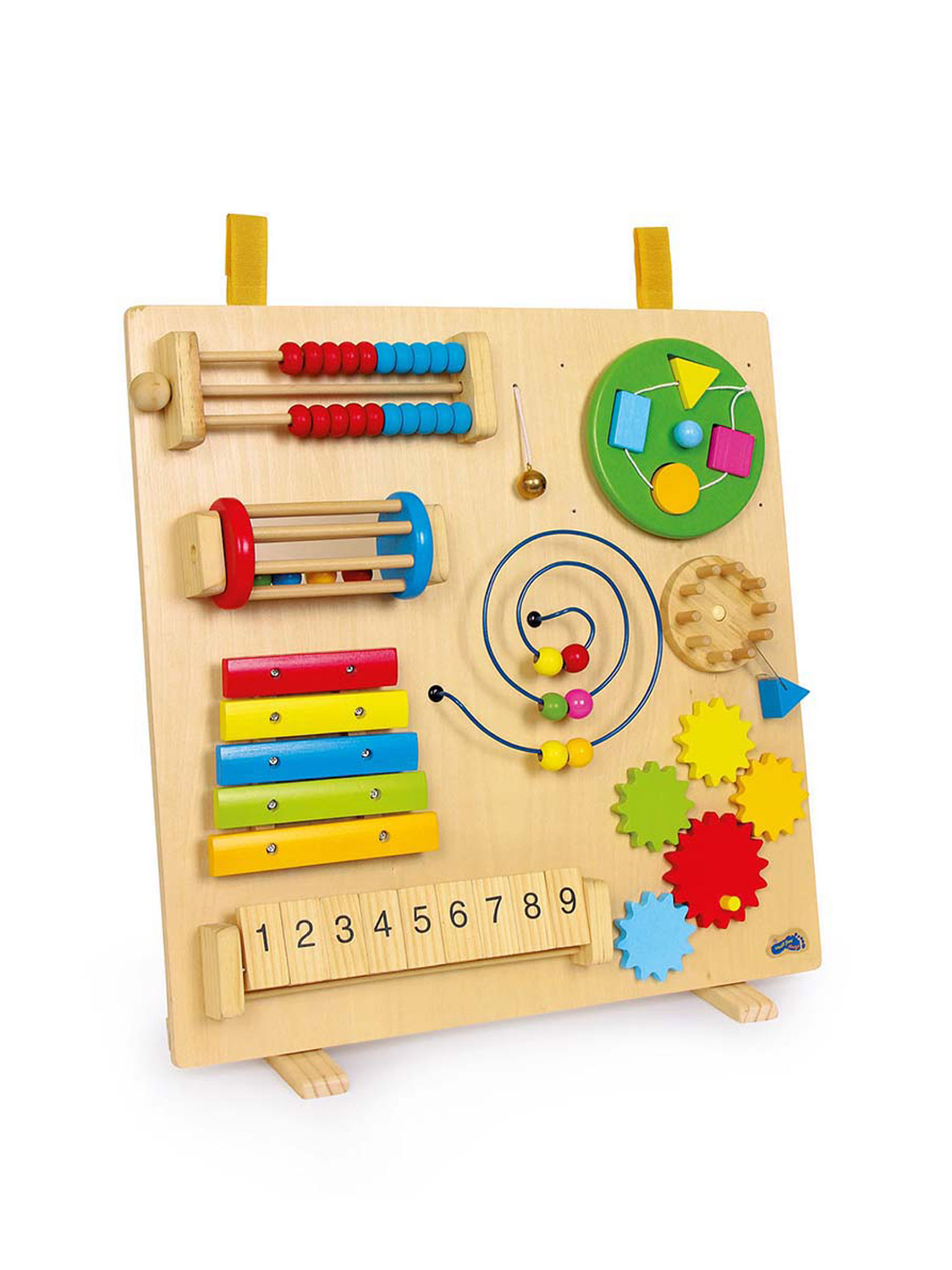 Stimulating Toys For Toddlers : Wooden activity sensory centre baby childrens educational