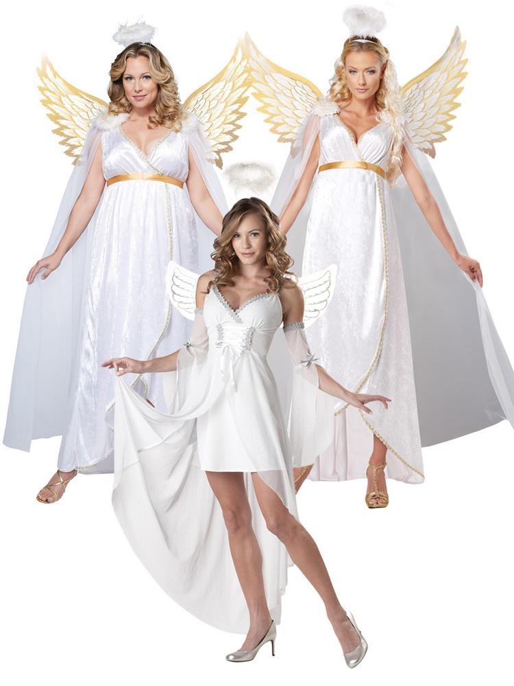 Ladies Heavens Guardian Angel Costume