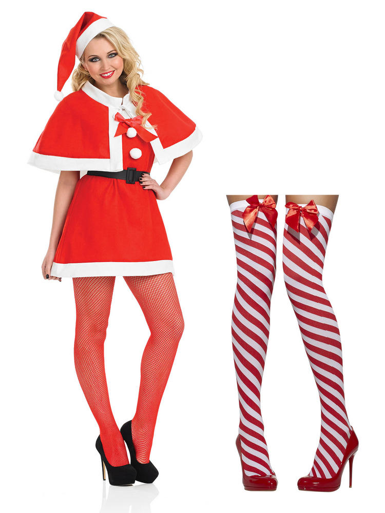 Ladies Cutie Costume & Stockings