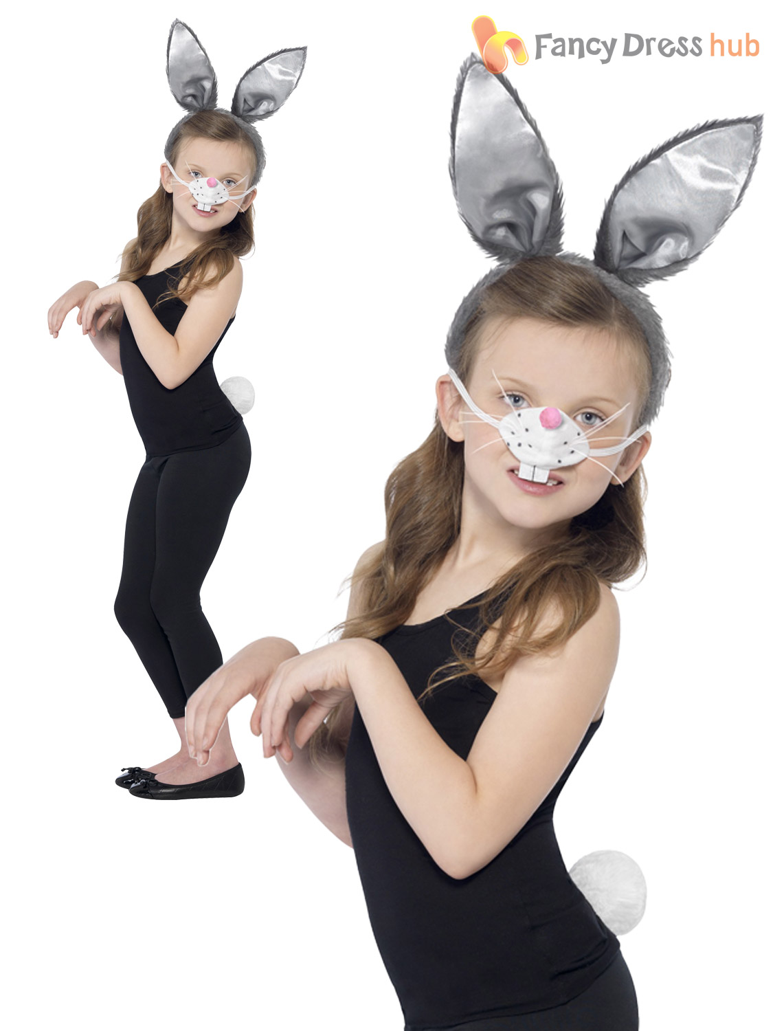 Kids-Cat-Rabbit-Dressing-Up-Kit-Child-Book-  sc 1 st  eBay : childrens dressing up costumes  - Germanpascual.Com