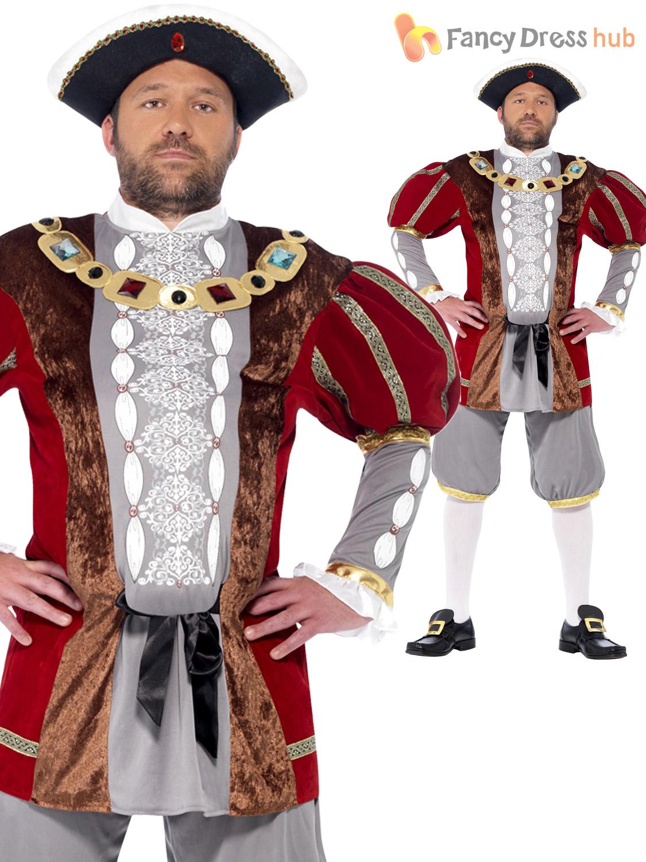 Deluxe Age King Kids Fancy Dress Historical Costume