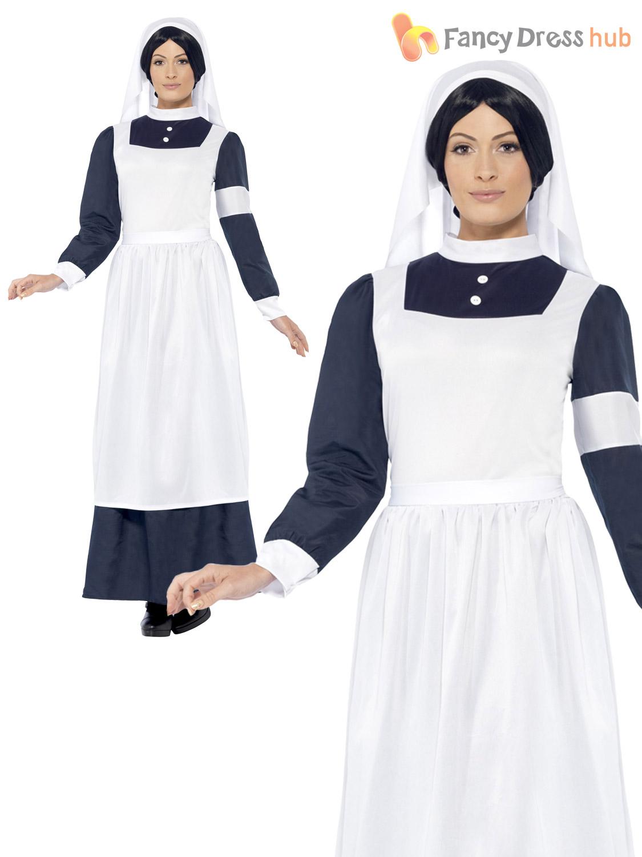Size 8 22 ladies world war 1 one nurse fancy dress florence size 8 22 ladies world war 1 one solutioingenieria Images