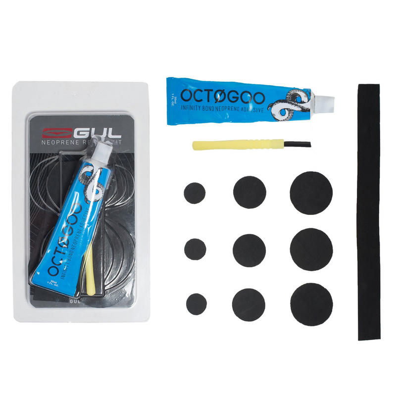 Gul Neoprene Repair Kit Wetsuit Drysuit Black Witch Glue Neoprene Patches
