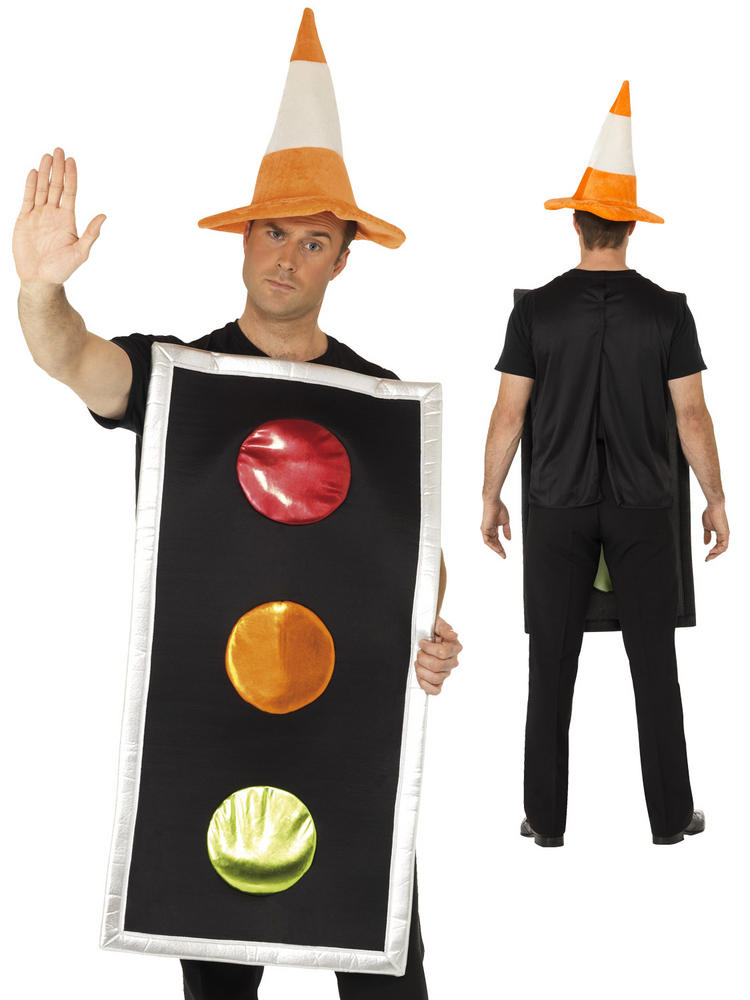 Adult's Traffic Light Costume