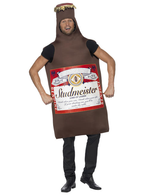 Adults Studmeister Beer Bottle Costume