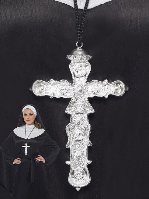 Religious Ornate Cross Pendant