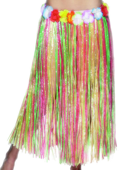 Ladies Long Hula Skirt
